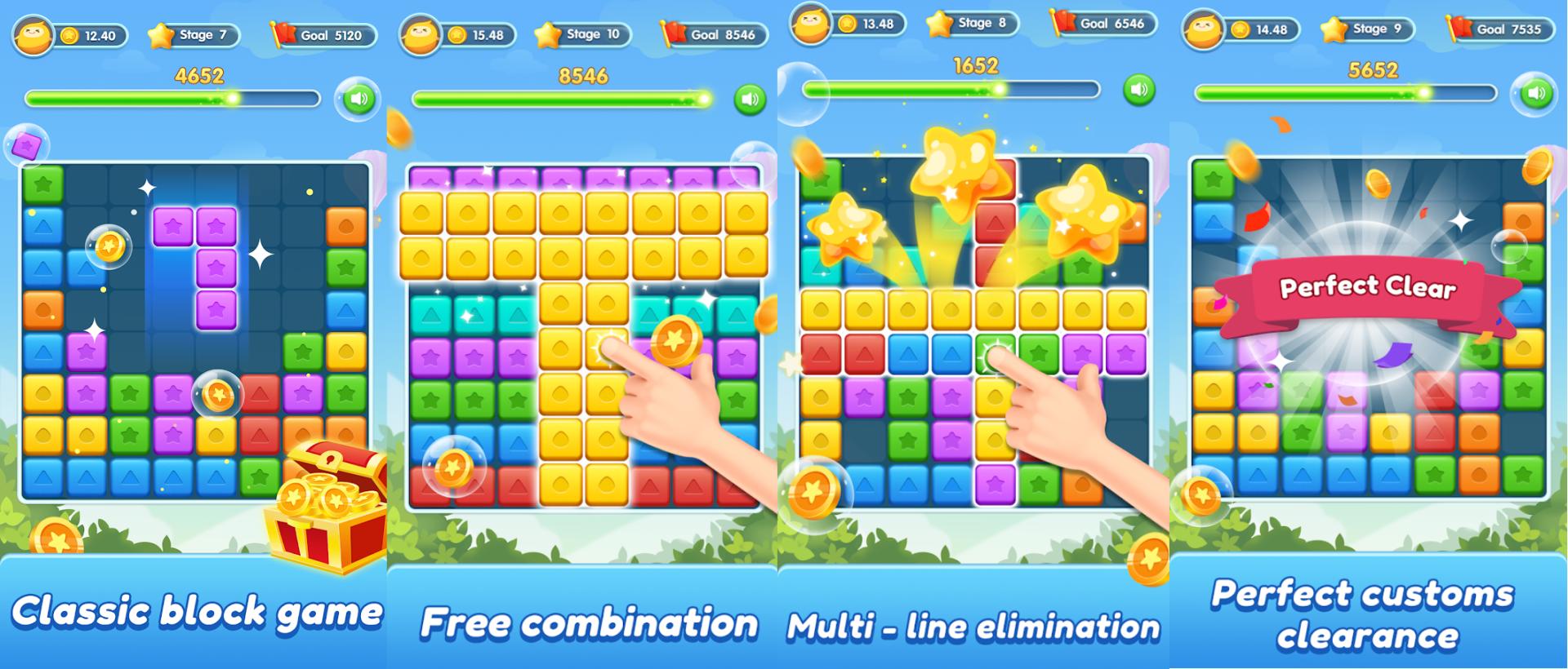 Block Crush-Classic Color Block Game
