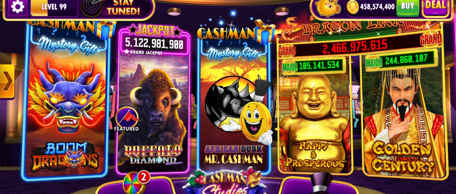 Download Cashman Casino: Free Slot Games on PC with NoxPlayer-Appcenter