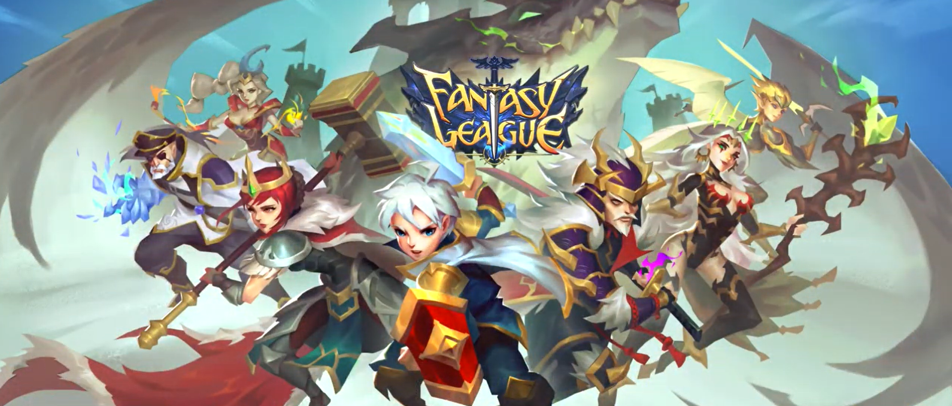 Fantasy League: Turn-based RPG strategy