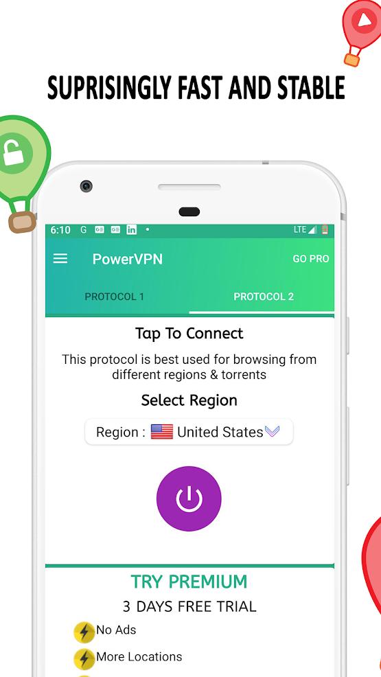 Free VPN: Power VPN