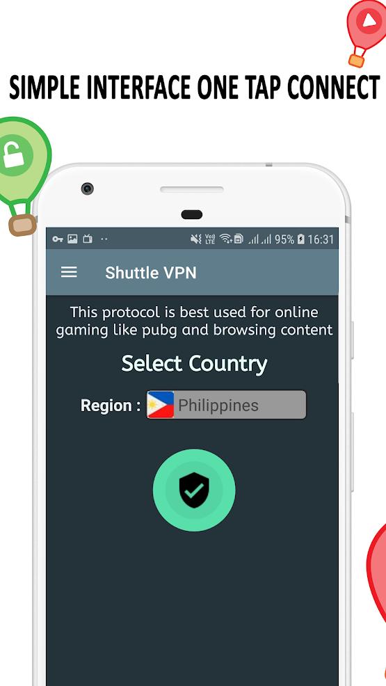 Shuttle VPN on PC