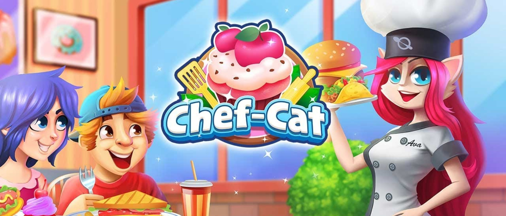 Cooking Games🔥Chef Cat Ava😺Delicious Kitchen🍕🌮