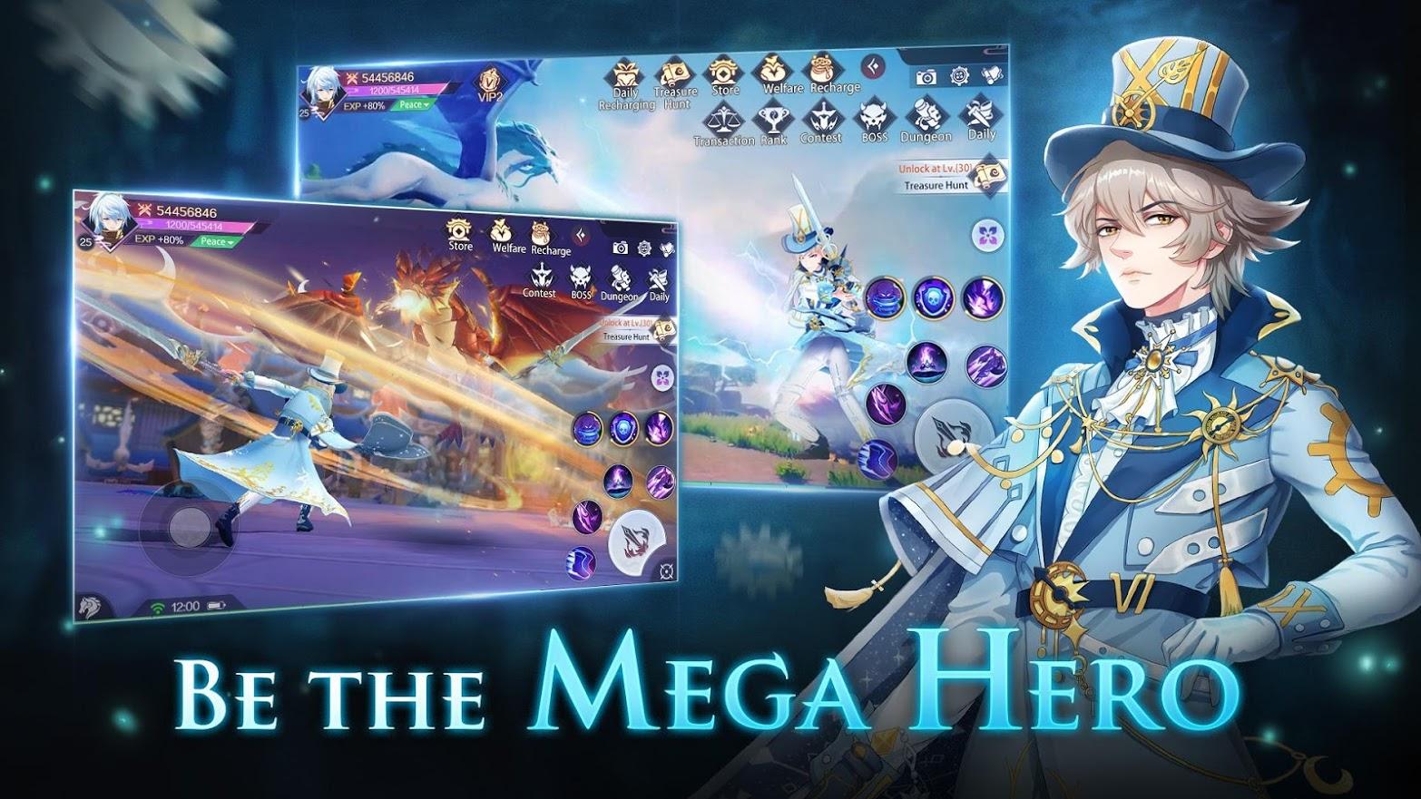 Mega Heroes release