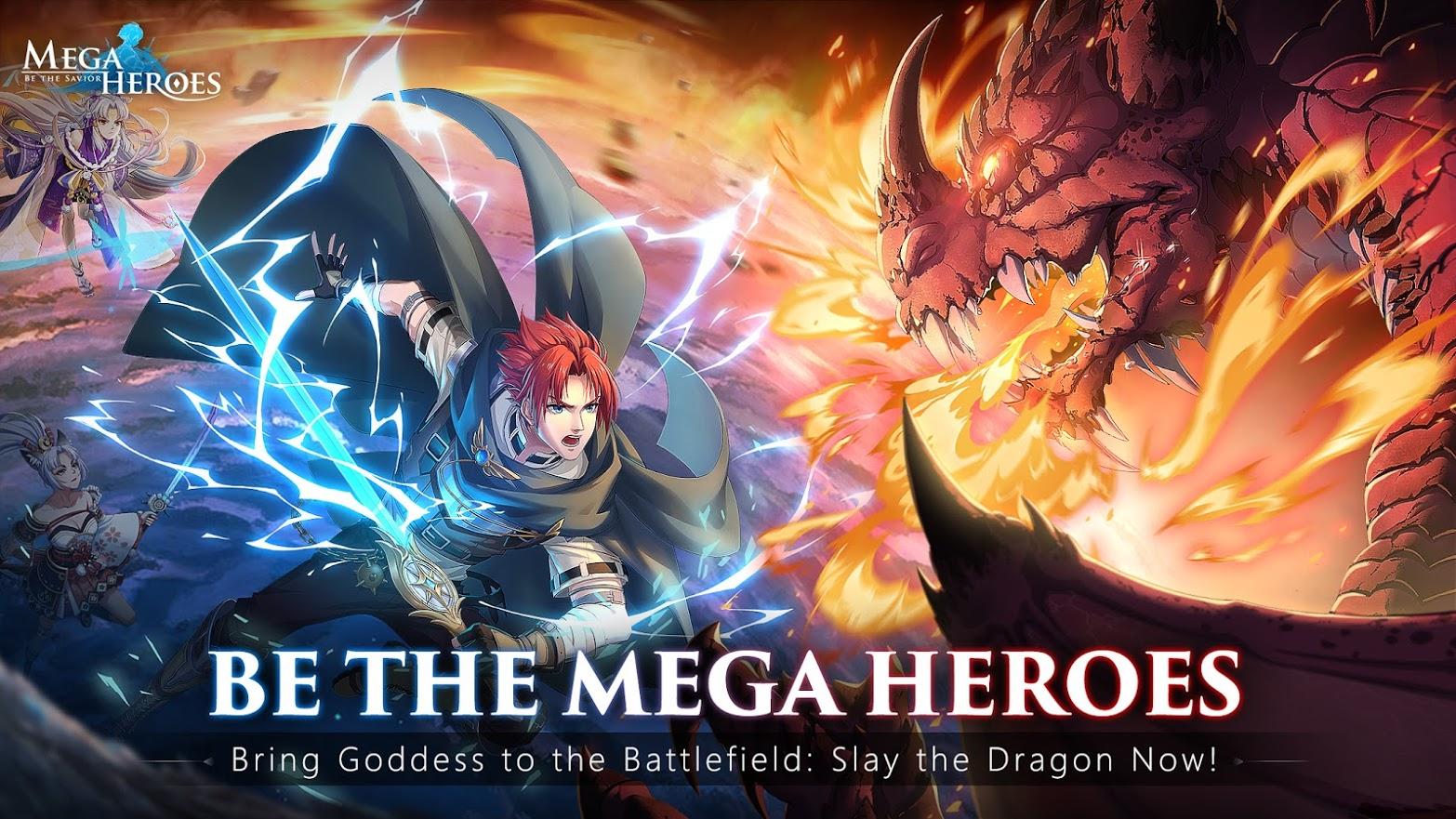 Mega Heroes gameplay