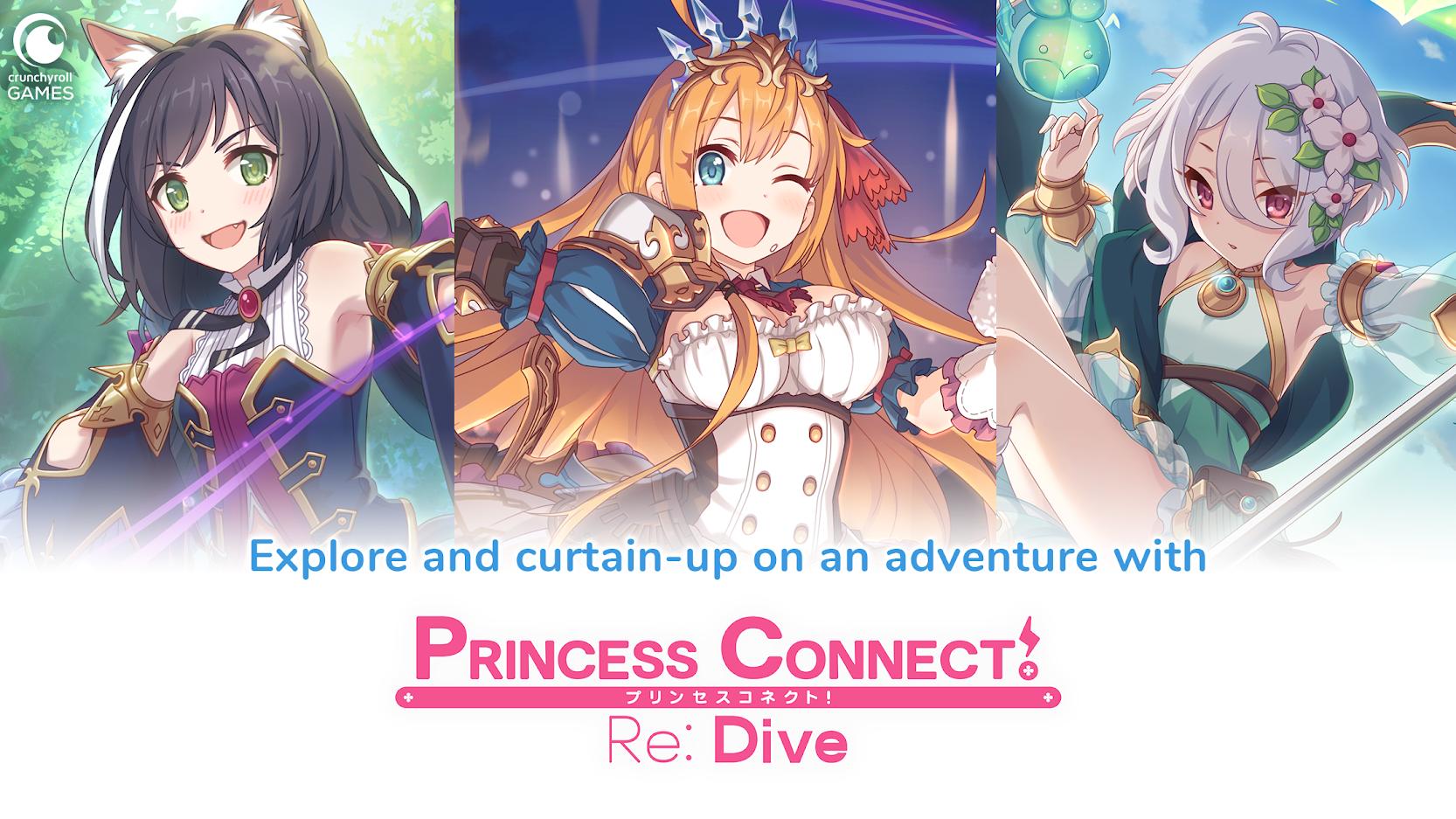 Princess Connect! Re: Dive release