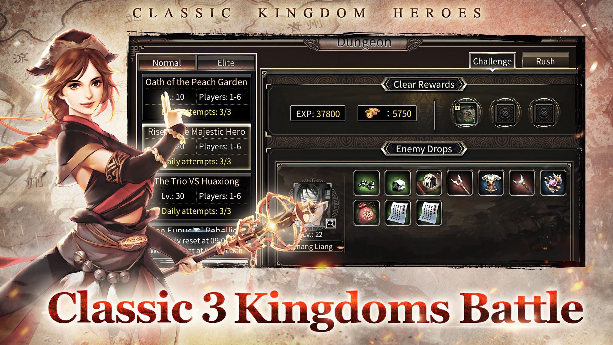 kingdom heroes m pc