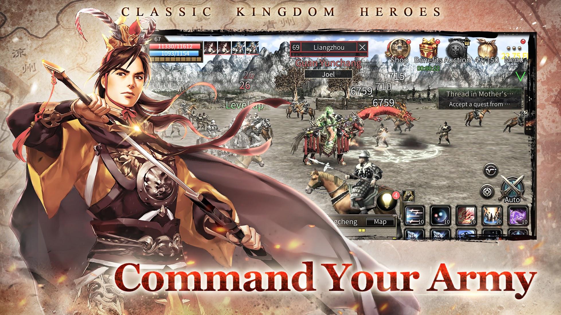 kingdom heroes m release
