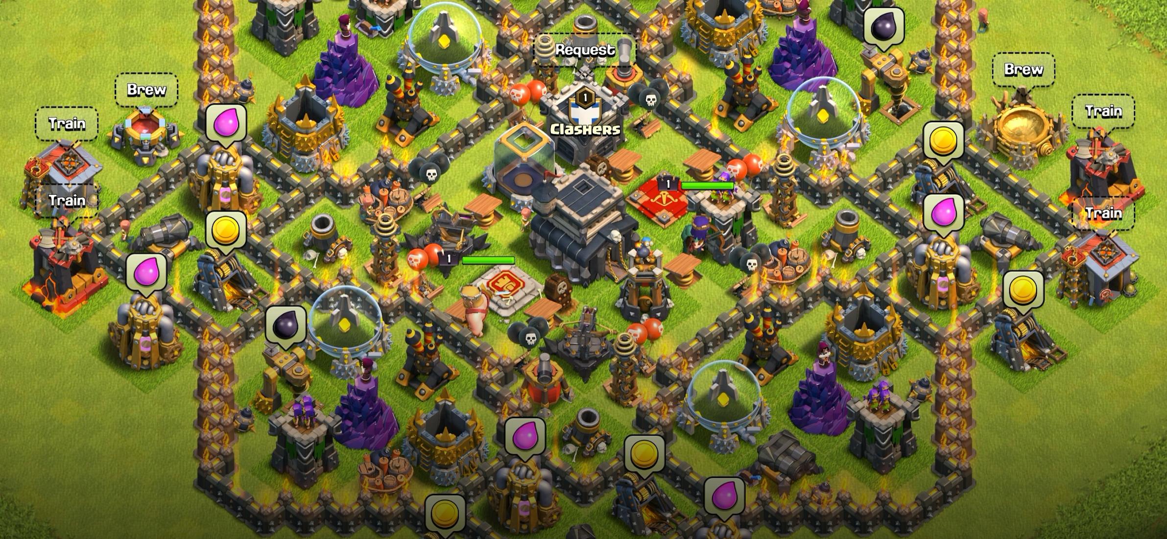 Clash of Clans игра