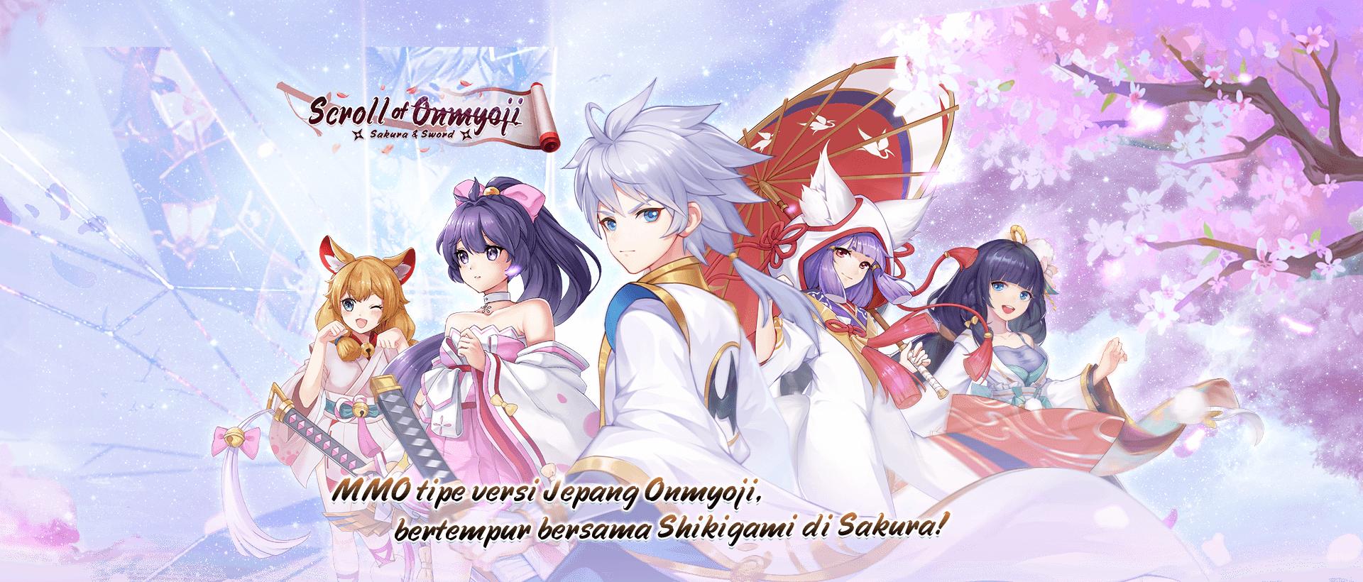 Scroll of Onmyoji: Sakura & Sword