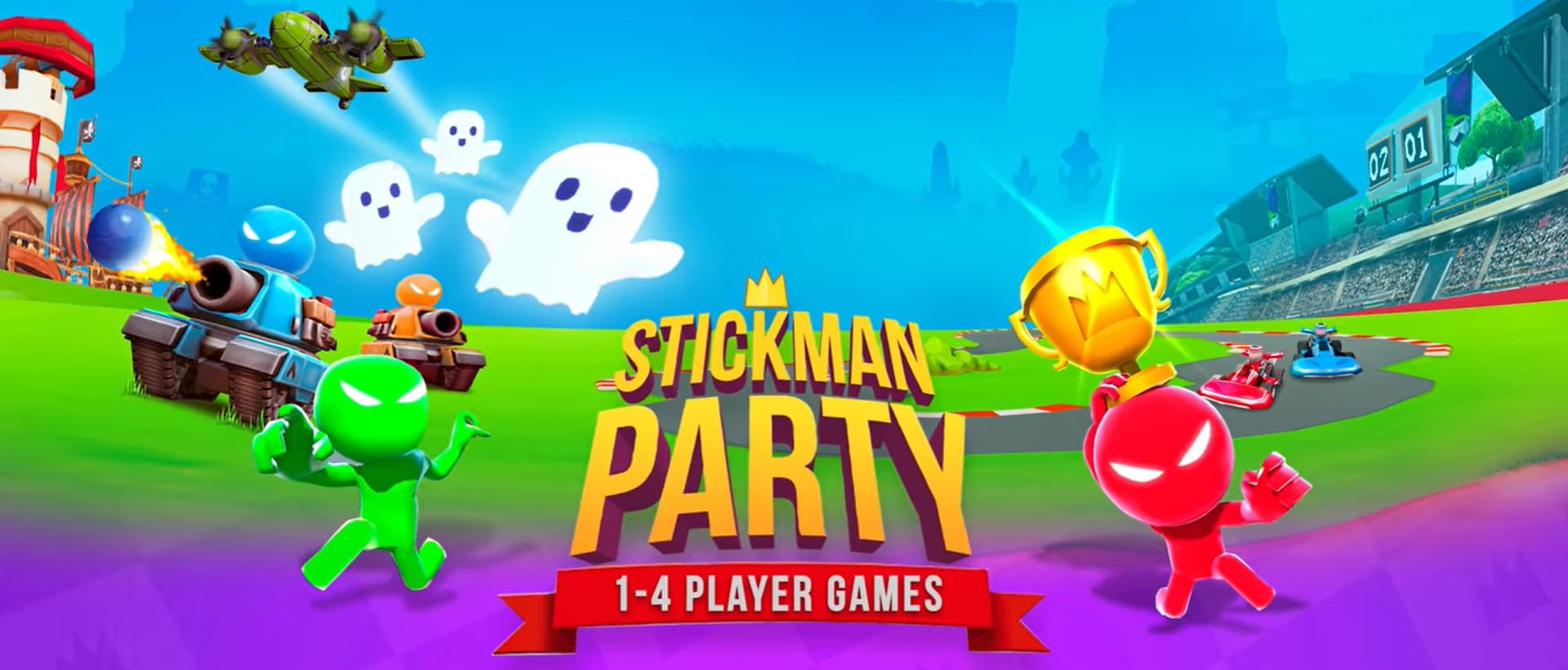 Stickman Party: 1 2 3 4 Permainan Pemain Gratis