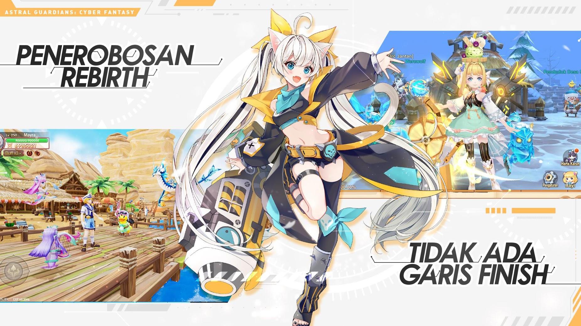 Astral Guardians: Cyber Fantasy di pc