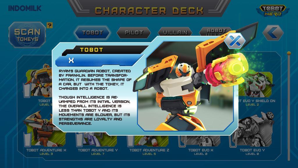Indomilk Tobot Hero di PC
