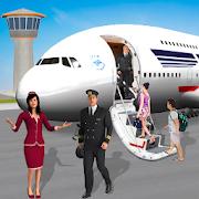 modern pesawat terbang pendaratan petualangan 3D