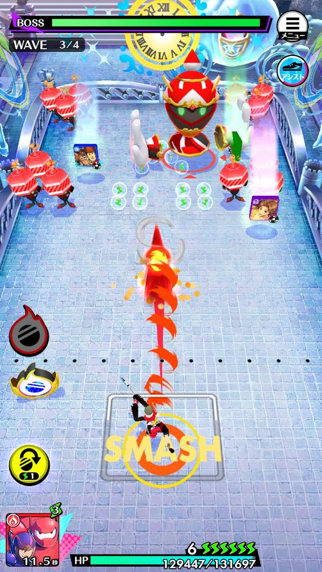 「スタースマッシュ ゲーム画面」の画像検索結果