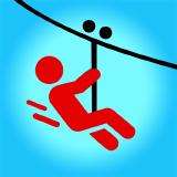 Zipline Valley - 물리학 퍼즐 게임
