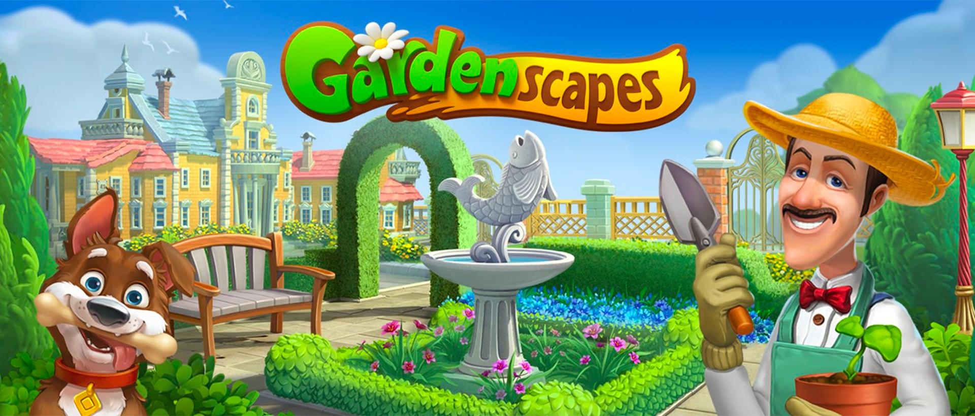 꿈의 정원 - Gardenscapes