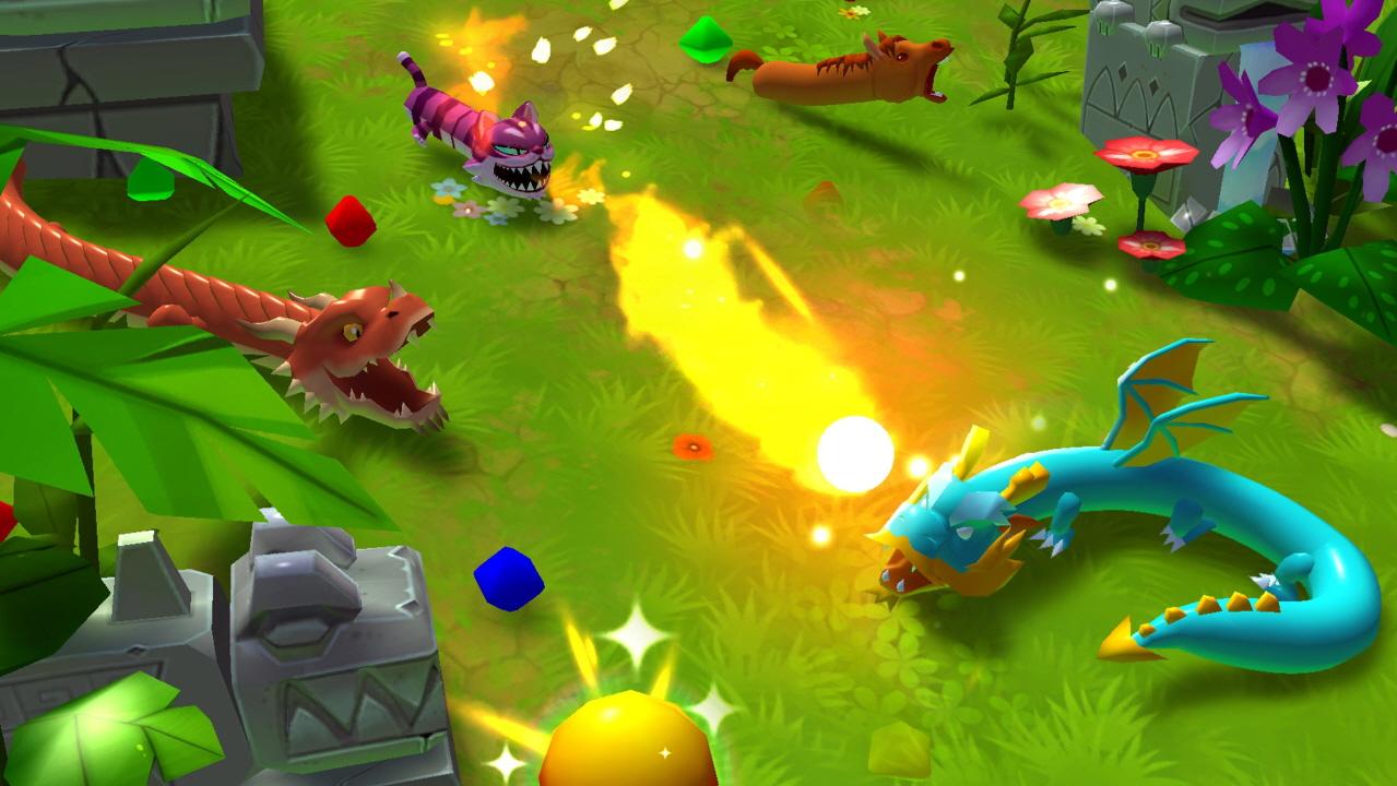스네이크 라이버 (신개념 3D 스네이크 게임)