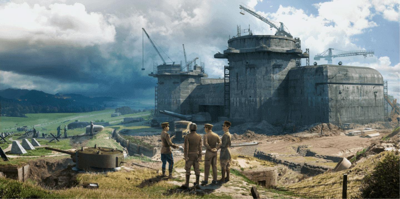 탱크 전투의 시작