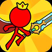 Stickman vermelho: animação vs luta de stickman