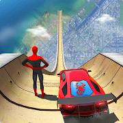 Spider Superhero Car Stunts: Car Driving Simulator