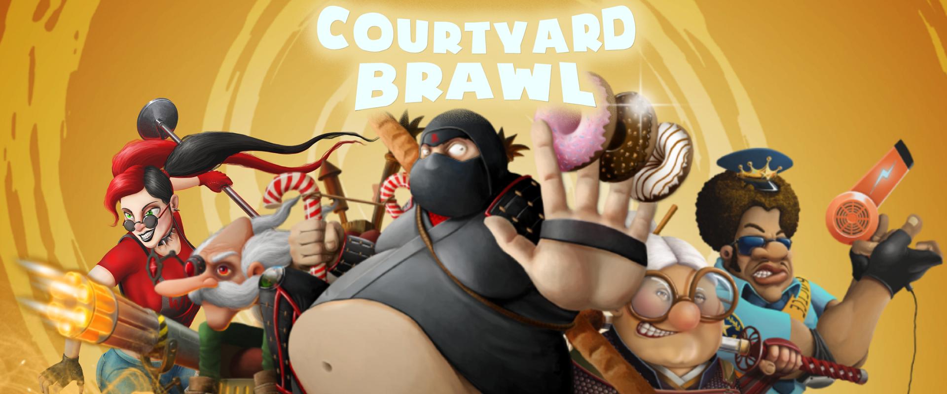 Courtyard Brawl - Random Tower Defense