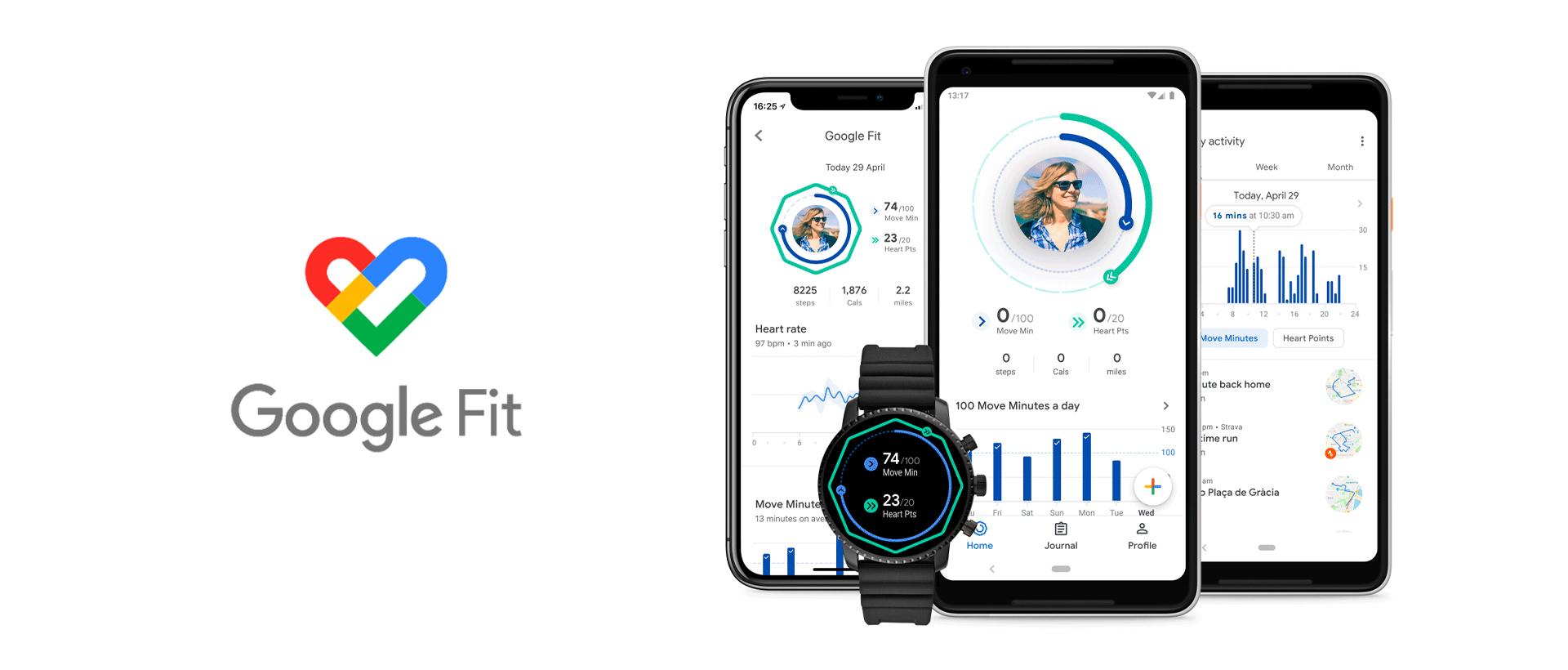 Google Fit:追蹤你的健康和運動狀況