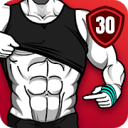 30天獲得六塊腹肌 - 腹肌鍛鍊