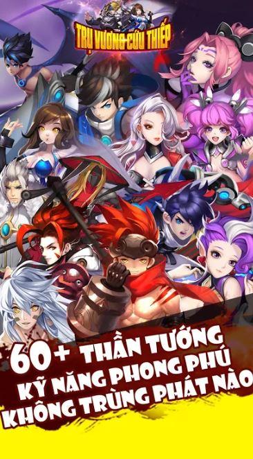 Tru Vuong Cuu Thiep - Best sword art card battle - rpg online game of 2020 2-boz