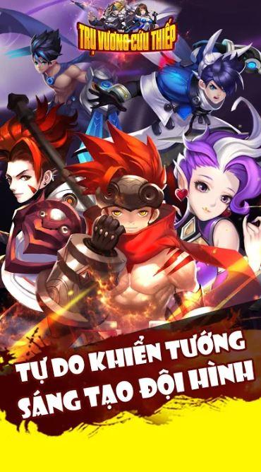 Tru Vuong Cuu Thiep - Best sword art card battle - rpg online game of 2020 3-1bk