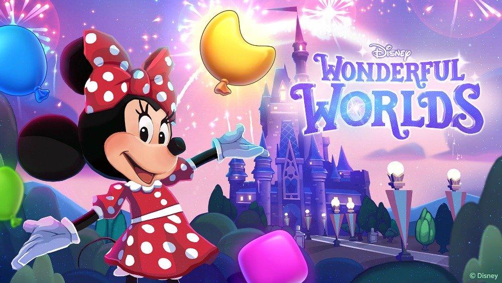 DisneyWonderfulWorlds_MinnieKeyart