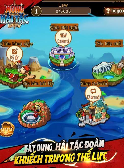 Chơi Mộng Hải Tặc Mobile trên PC cùng NoxPlayer 2-9r8