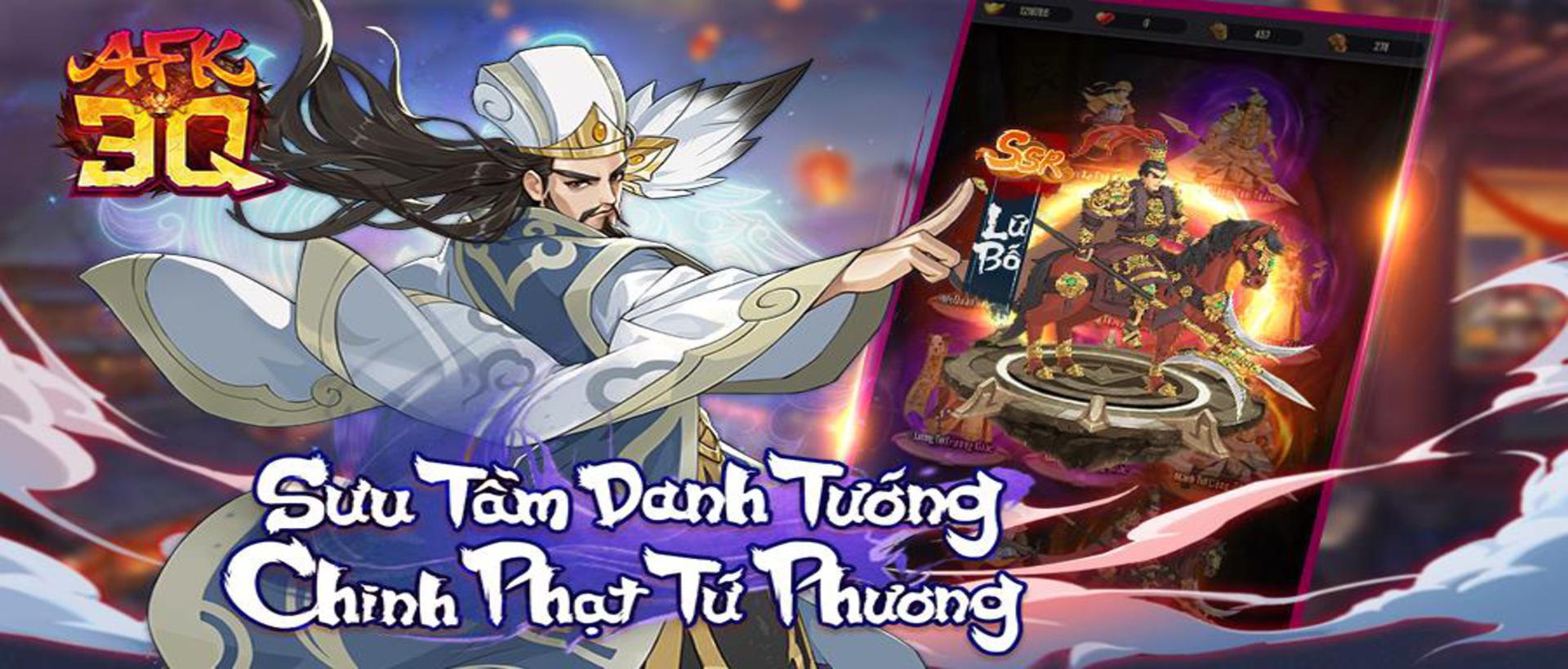 AFK 3Q - Đế Vương Thiên Hạ