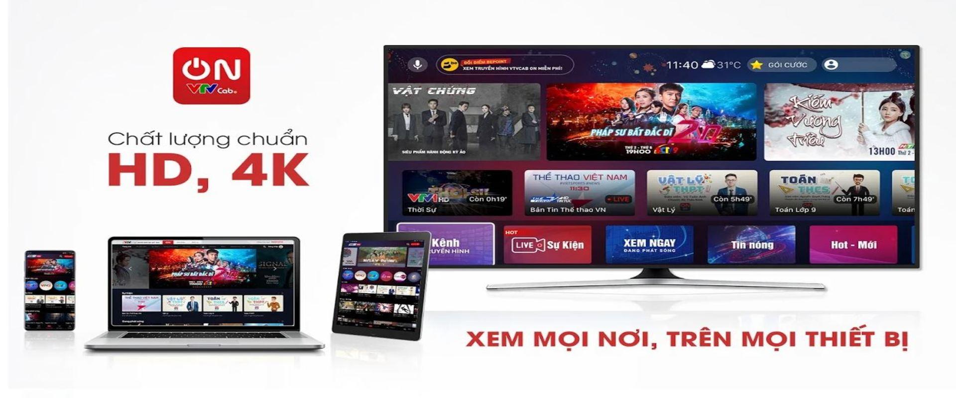 VTVcab ON: Trực tiếp bóng đá – Xem tivi online